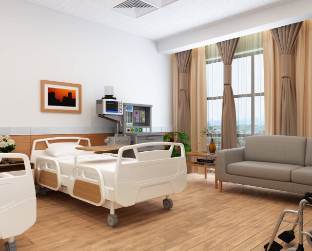 病院の部屋